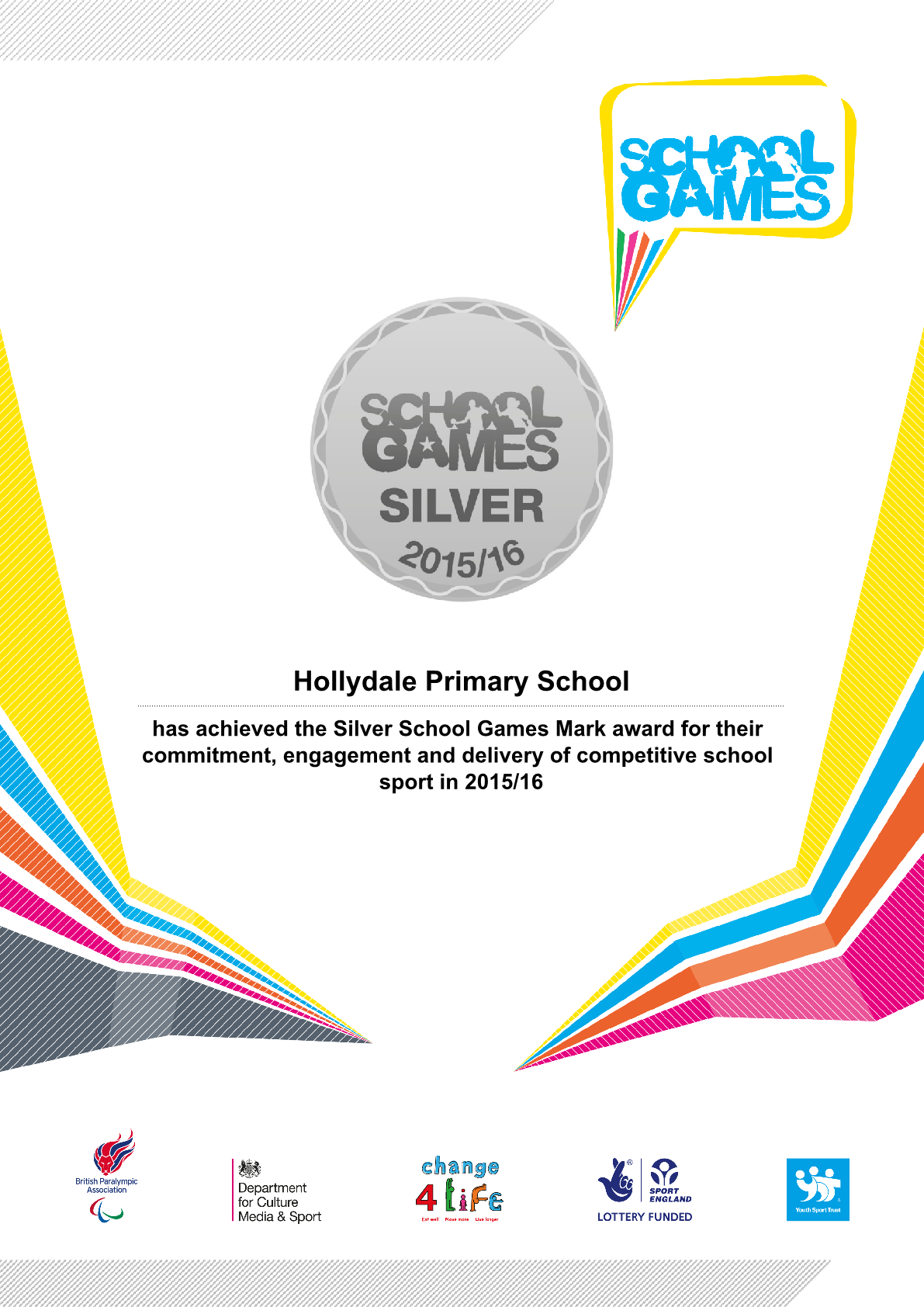 Sports Silver Achievement