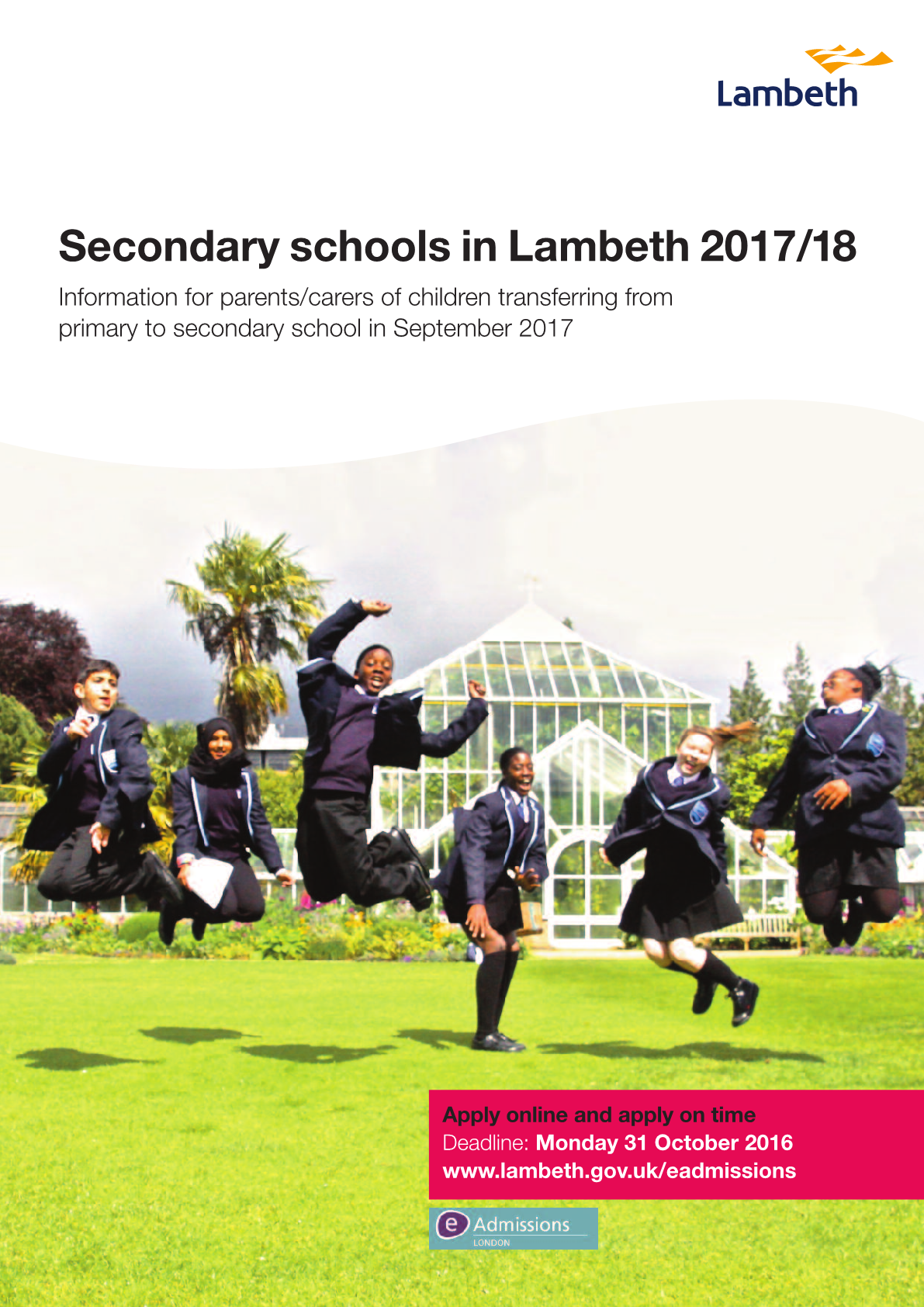 Lambeth - Secondary schools brochure 2017